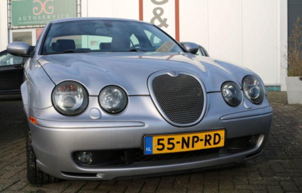 Jaguar S type Supercharged.